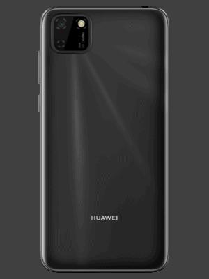 o2 - Huawei Y5p (schwarz / hinten)