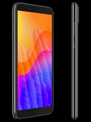 o2 - Huawei Y5p (schwarz / seitlich)