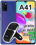 o2 - Samsung Galaxy A41 mit gratis Car Wifi Adapter