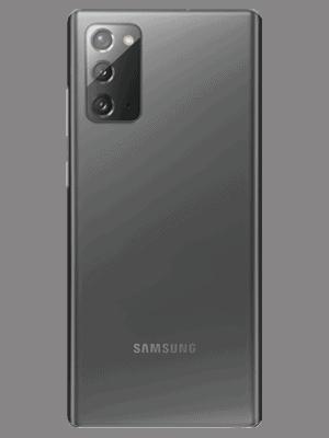 o2 - Samsung Galaxy Note20 5G (grau / mystic gray - hinten)