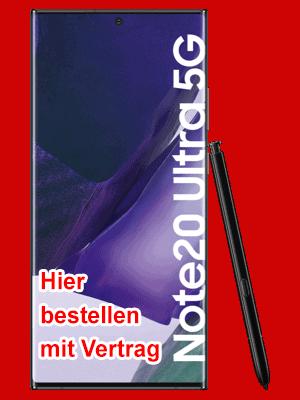 o2 - Samsung Galaxy Note20 Ultra 5G hier bestellen