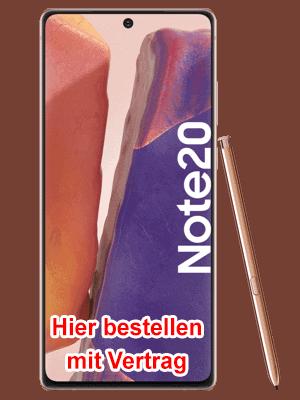 o2 - Samsung Galaxy Note20 hier bestellen