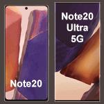 Vergleich Samsung Note20 und Galaxy Note20 Ultra 5G