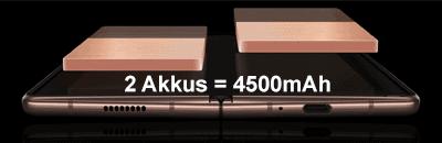 Akku vom Samsung Galaxy Z Fold2 5G