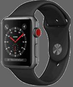Apple Watch 3 (S3) Sport schwarz bei o2