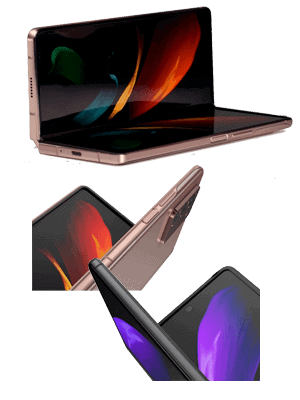 o2 - Samsung Galaxy Z Fold2 5G - Klapp-Smartphone