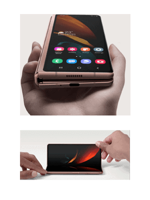 o2 - Samsung Galaxy Z Fold2 5G - Klappmechanik
