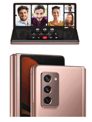 o2 - Samsung Galaxy Z Fold2 5G - Kamera
