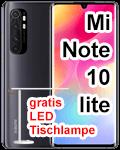 o2 - Xiaomi Mi Note 10 lite mit gratis LED Tischleuchte
