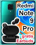 o2 - Xiaomi Redmi Note 9 Pro mit gratis Earbuds