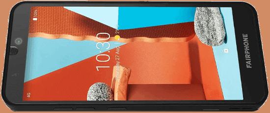 Display vom Fairphone 3+