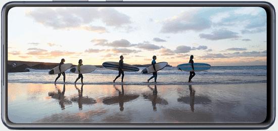 Display vom Samsung Galaxy S20 FE