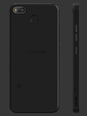o2 - Fairphone 3+ (hinten - schwarz)