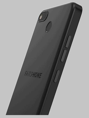 o2 - Fairphone 3+ (seitlich - schwarz)
