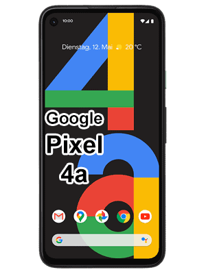 o2 - Google Pixel 4a