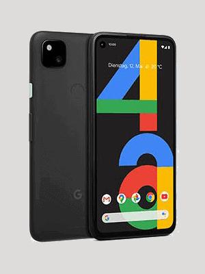 o2 - Google Pixel 4a (schwarz / schräg)