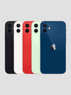 o2 - Apple iPhone 12 - alle Farben (Ansicht hinten)