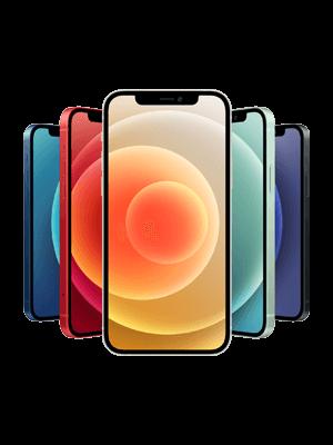 o2 - Apple iPhone 12 - alle Farben (Ansicht vorne)