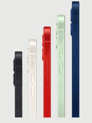o2 - Apple iPhone 12 - alle Farben (Ansicht seitlich)