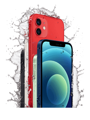 o2 - Apple iPhone 12 - Schutz gegen Wasser und Staub (IP68)