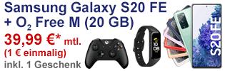 Samsung Galaxy S20 FE (Fan Edition) bei o2
