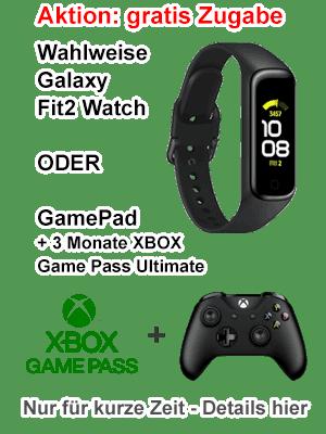 Samsung Aktion - gratis Galaxy Fit2 oder Gamepad mit Gamepass