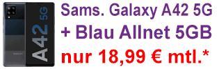 Samsung Galaxy A42 5G bei Blau.de