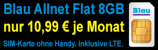 Blau Allnet XL Aktion