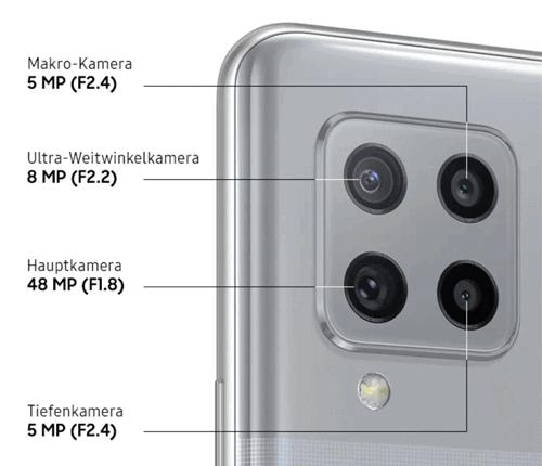 Kamera vom Samsung A42 5G