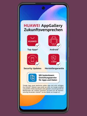 o2 - Huawei P smart 2021 mit AppGallery Zukunftsversprechen