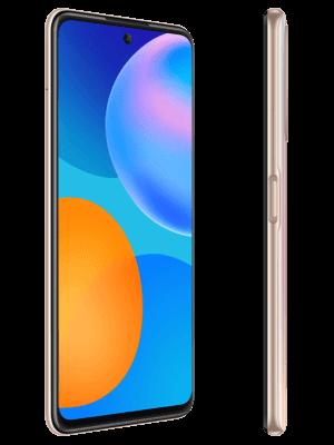 o2 - Huawei P smart 2021 (gold / seitlich)