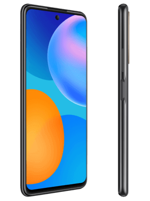 o2 - Huawei P smart 2021 (schwarz / seitlich)