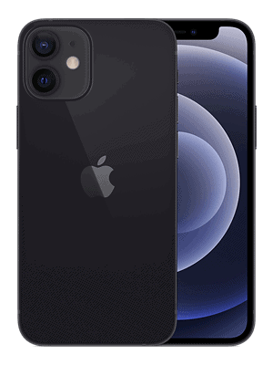 o2 - Apple iPhone 12 mini - schwarz