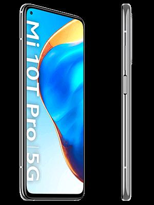 o2 - Xiaomi Mi 10T Pro 5G (silber / seitlich)