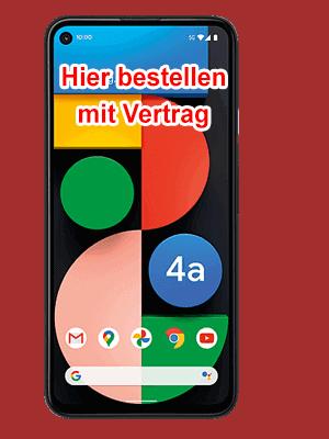 o2 - Google Pixel 4a 5G hier bestellen