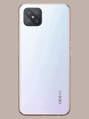o2 - Oppo Reno4 Z 5G (weiß / hinten)