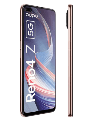 o2 - Oppo Reno4 Z 5G (weiß / seitlich)