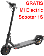 Gratis eScooter Mi Electric Scooter 1S bei o2