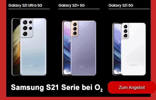 Samsung Galaxy S21 Serie bei o2