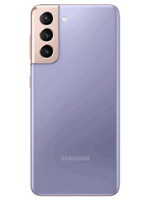 o2 - Samsung Galaxy S21 5G - phantom violet - hinten
