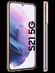 o2 - Samsung Galaxy S21 5G - phantom violet - seitlich