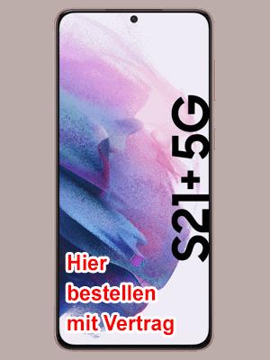 o2 - Samsung Galaxy S21+ 5G - hier bestellen