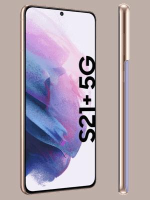 o2 - Samsung Galaxy S21+ 5G - phantom violet / seitlich