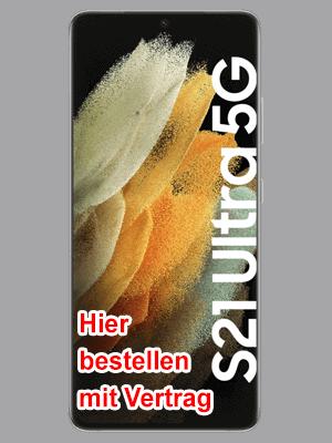 o2 - Samsung Galaxy S21 Ultra 5G - hier bestellen