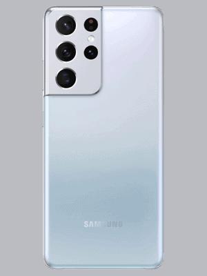 o2 - Samsung Galaxy S21 Ultra 5G - phantom silver (silber) - hinten