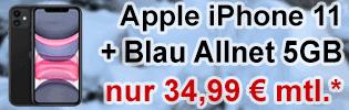 Apple iPhone 11 bei Blau.de