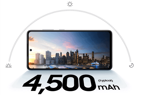 Akku vom Samsung Galaxy A52