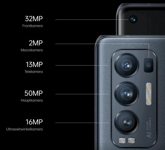 Kamera vom Oppo Find X3 Neo 5G