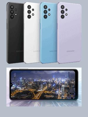 o2 - Samsung Galaxy A32 5G - Farbauswahl