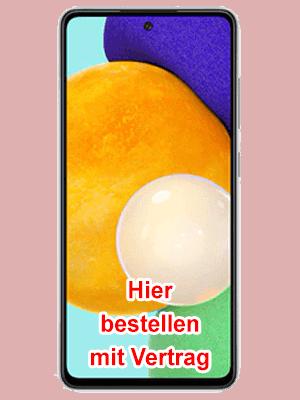 o2 - Samsung Galaxy A52 5G - hier bestellen